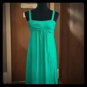 Old navy green maxi dress size small